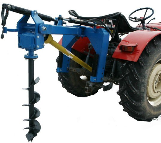 Hole digger with hydraulic shift - BulgarianAgriculture.com