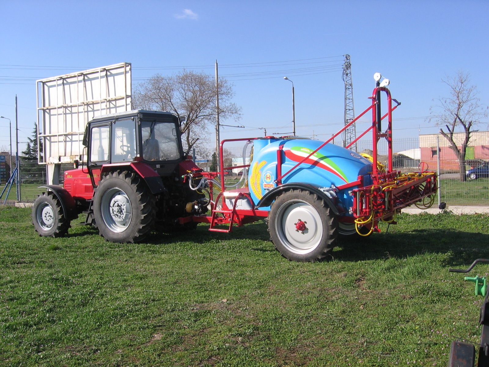 Trailed sprayer - BulgarianAgriculture.com